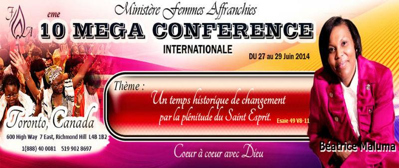 Mega Conférence Internationale